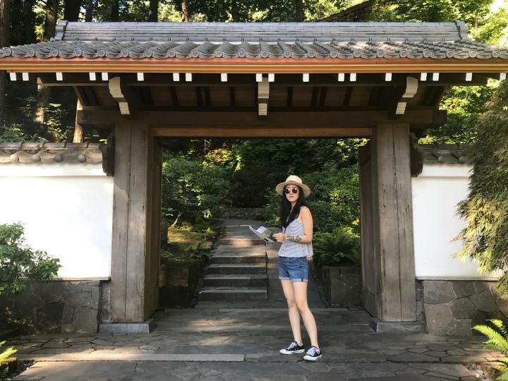 2019 Travels – Portland Japanese Garden,Orgeon